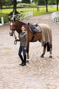 Beautiful Rider & Horse Showing Off The Eskadron Classic Collection 2016.