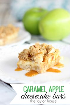 Blog post at The Taylor House : Hey, everyone! I have the perfect recipe to celebrate fall for you, these Caramel Apple Vanilla Cheesecake Bars combine some of the best f[..]