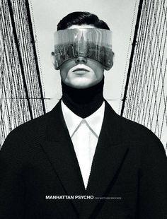 "NUMERO HOMME: ARTHUR GOSSE & JOHN TODD IN ""AMERICAN PSYCHO"" Photography by #MatthewBrookes"