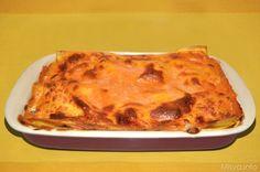 Queste lasagne ai funghi con ricotta sono state la cena di mio marito il giorno in cui ho preparato le lasagne ai