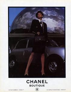Chanel (Boutique) 1985 Inès de la Fressange