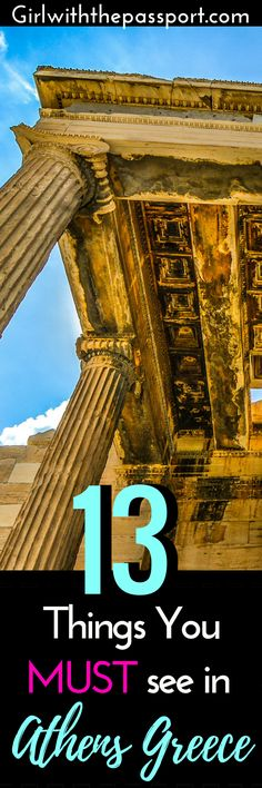 #Athens #Greece is a vibrant, historic #city that has a ton of things to see and do while #traveling on #vacation. Check out this pin to help you plan your Athens Greece #itinerary and #map out what you will put on your Athens bucket list.