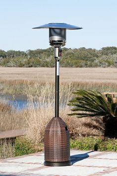 $289.99 - All Weather Wicker Patio Heater - Free Shipping Camelot Living!