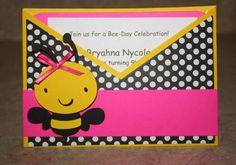Bee-Day Invites