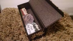 Decorative Box $6.50 Holds 3 bars of Soap