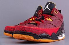 Jordan Son of Mars Low - Team Red / Gym Red - University Gold (3)