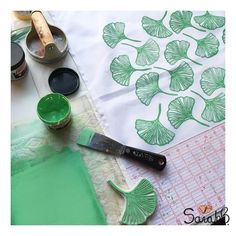 """Week 9: #52weeksofprint """"Leaves"""" Time to print! (link in profile) #sarahb #uppercasewips #coloring #coloringbook #surfacedesign . . . . . #fabricdesign #textiledesign #foundforaged #finditstyleit #gatheredstyle #thehappynow #thatsdarling #livethelittlethings #abmlifeisbeautiful #dspattern #dsinspire #flashesofdelight #patternobserver #surfacepatterndesign #patternbank #pursuepretty #abmlifeissweet #abmlifeiscolorful #greetingcards #notecards #stationery #blockprinted #blockprint"""