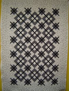 andie johnson sews: Black and White Inspiration: argyle