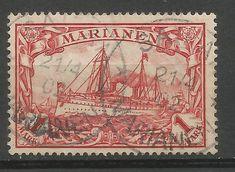 Obecnie na aukcjach #Catawiki: Cesarstwo Niemieckie 1901 rok . Znaczek 1 i 2 Marki  MARSHALL INSELN . Numer Michel...