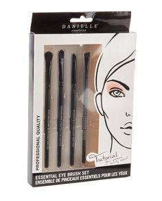 DANIELLE CREATIONS 4-Piece Eye Brush Set $12.99