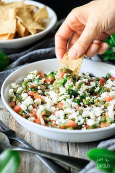 Cactus salad is a Mexican salad that tastes great in tortillas or as a side with grilled meat. Just toss together canned nopales, veggies, and a dressing. Raw Food Recipes, Mexican Food Recipes, Cooking Recipes, Healthy Recipes, Ethnic Recipes, Mexican Desserts, Mexican Cooking, Freezer Recipes, Freezer Cooking
