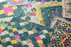 craftyblossom celebrating Carrie Bloomston and S T O R Y,  her latest (and greatest) fabric collection for Windam Fabrics