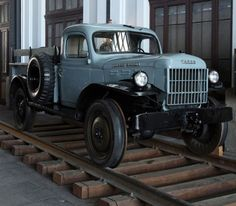 Dodge Power Wagon For Sale. Mercedes Benz Unimog, Old Pickup Trucks, Dodge Trucks, Dodge Power Wagon, Railroad Photography, Rail Car, Car Trailer, Train Pictures, Old Cars