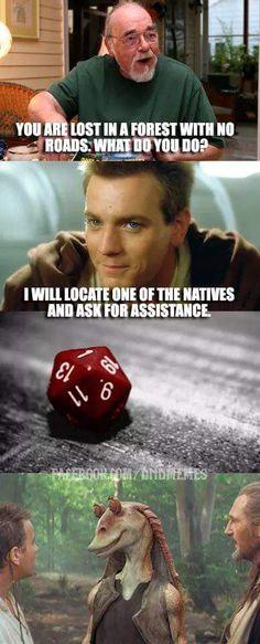 Una realidad en D&D, eso es tener mala suerte