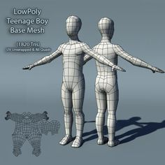 Buy Low Poly Teenage Boy Base Mesh by amardeep on A generic lowpoly base mesh of a teenage boy. Keeping the human muscle anatomy in mind I have kept the topology clean. Human Muscle Anatomy, 3d Polygon, Blender Tutorial, 3d Character, Movie Characters, Low Poly, 3d Design, Caricature, Kids Boys