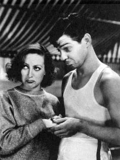 """""""Clark was all man. I've been asked many times about him and what it was that was so attractive about him. I can tell you, and I can tell you in one word if you won't be too shocked: Balls! Clark Gable had balls."""" ~ Joan Crawford"""