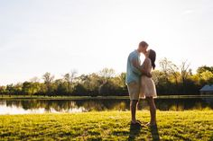 Sunny springtime engagement shoot at @MorningGloryNC  by @ChrisBellPhoto | Two Bright Lights :: Blog