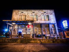 Restaurant by day / blues club by night - Ground Zero Blues Club, co-owned by Morgan Freeman, is infused with Delta grit and one of the most colorful spots in downtown Clarksdale. photo: Ground Zero and Austin Britt