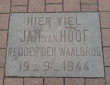 Gedenksteen Jan van Hoof (Joris Ivensplein) - Wikipedia