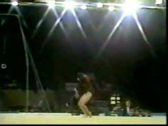 1973 Champions All gymnastics Elvira Saadi floor exercise