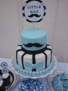 little man baby shower cake this would be perfect for my shower