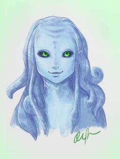 Possible character sketch from deviant art..