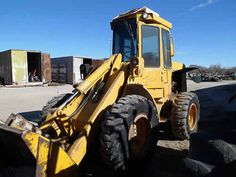 John Deere 444C industrial salvaged for used parts. This unit is available at All States Ag Parts in Bridgeport, NE. Call 877-530-5010 parts. Unit ID#: EQ-23824. The photo depicts the equipment in the condition it arrived at our salvage yard. Parts shown may or may not still be available. http://www.TractorPartsASAP.com