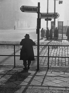 Photograph by Ralph Crane. Berlin, Germany, February 1953.