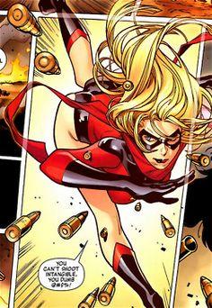 Ms. Marvel Comic Insert