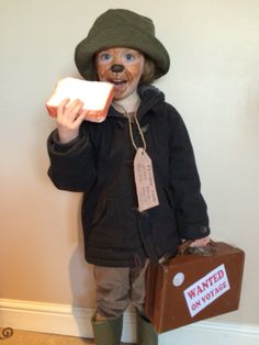 Paddington Bear costume for World Book Day