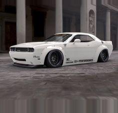 Liberty walk LB Performance Dodge Challenger   Thoughts?  #LBWorks #LibertyWalk #Dodge #Challenger