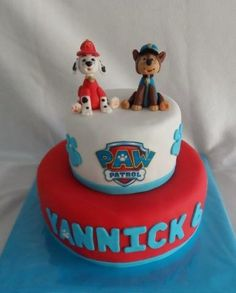 Paw patrol cake - Cake by Droomtaartjes