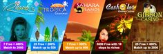 Mobile Online and Live Casino Games: 3 No Deposit Casino Bonuses