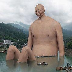Chinese artist #liudi digital sculpture.👤 Shared by @artselect  www.artFido.com/popular-art