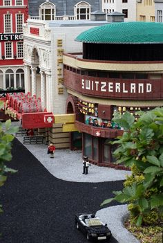 Legoland Glockenspiel  At the Swiss Centre in Leicester Square
