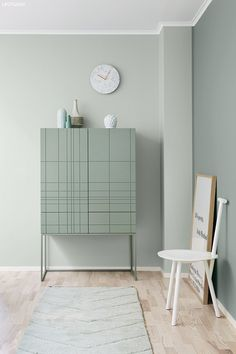 17 pastel decorations for dreaming 06 pastel cupboards The Post 17 baby room . Pastel Decor, Interior Pastel, Jotun Lady, Mint Walls, Bedroom Wall Colors, Deco Boheme, Blog Deco, Modern Kitchen Design, Living Room Inspiration