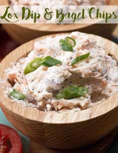 Make Your Dinner Party Sparkle With This Tasty Lox Dip And Bagel Chip Recipe