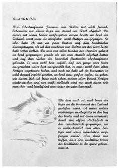 Carlszoons Notizen zu Rotbarts erster Reise I
