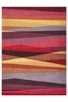 Buy Wool Abstract Multi Stripe Rug online today at Next: Rep. of Ireland
