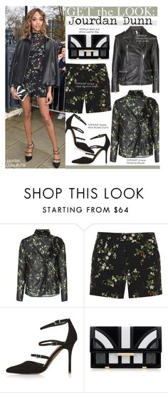 """""""Get The Look-Jourdan Dunn"""" by kusja ❤ liked on Polyvore featuring moda, Topshop, Topshop Unique, Aperlaï, women's clothing, women, female, woman, misses y juniors"""