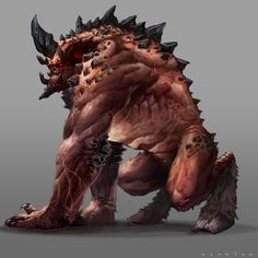 Just a Monster Design Humanoid Monsters - Buta Ijo