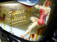 Harley-Davidson Fighter Nightster PinUp - awesome paint