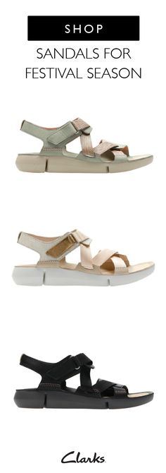 Summer will be here before you know it. Make sure you're prepared for all of the warm weather fun with this collection of Clarks sandals for festival season. Every moment in Instagram worth when you're wearing Tri Clover leather sandal, available in black, light green, and blush pink. Click here to learn more.