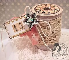 Image result for spools as crafts