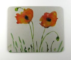 """Mouse Pad """"Poppy Pals"""" By Patty Harmsen"""
