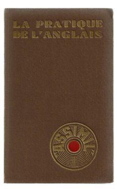 La Pratique de l'Anglais, vintage cover via VintageEdition.