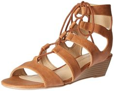 CL by Chinese Laundry Women's Most Burnished Wedge Sandal ** Find out more details by clicking the image : Gladiator sandals