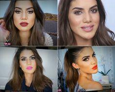 A blogueira Camila Coelho mostra no #MaisVocePT maquilhagem de arrasar feita em 5 minutos.