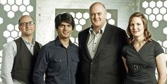 Dara O'Briain and his boffins in his Science Club