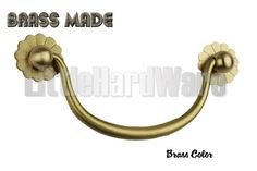 Brass Made :High Quality Smile drawer pulls / Cabinet Knob Pull Handles /Furniture Handle -Three Colors can be choose - DP0313 by LittleHardware on Etsy